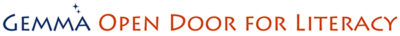 GEMMA Open Door for Literacy Logo