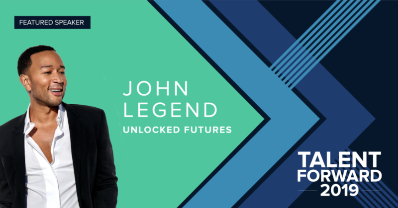 John Legend Talent Forward 2019