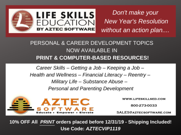 COABE November 2019 VIP Vendor: Life Skills Education