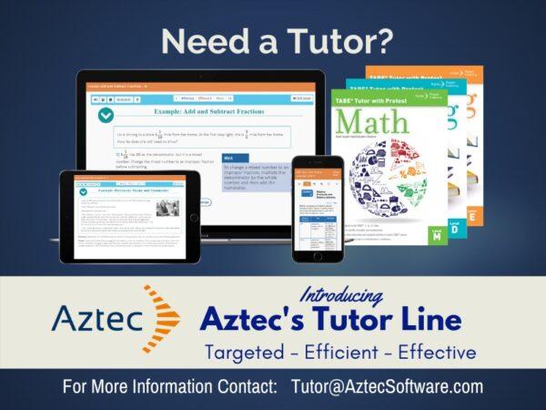 Aztec Softwar Tutor Line Ad